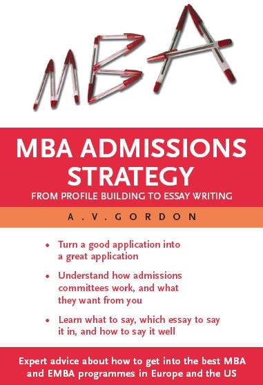 Best book mba essays